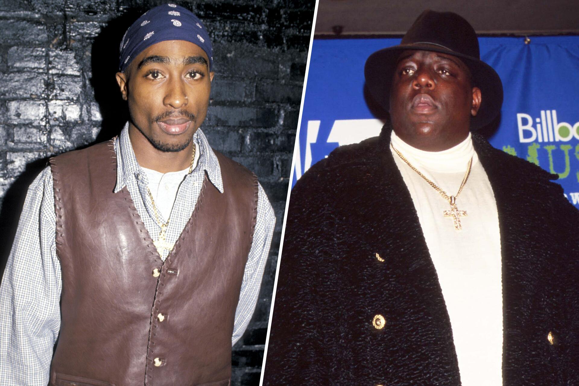 Bild zu Tupac Shakur, Notorious B.I.G.