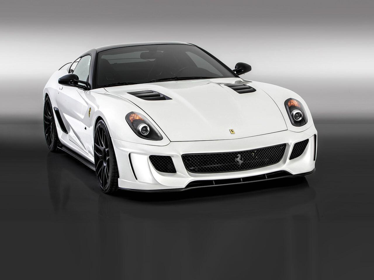 Bild zu Ein Supersportler par excellence: Der Ferrari 599VX von Vorsteiner