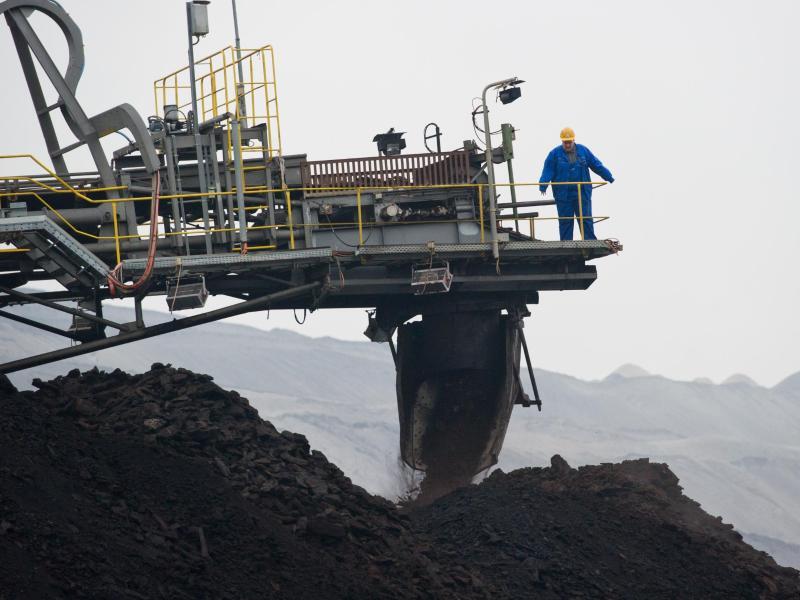 Bild zu Tagebau