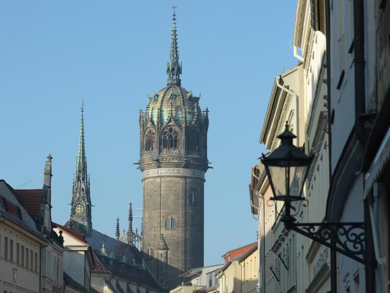 Bild zu Schlosskirche in Lutherstadt Wittenberg