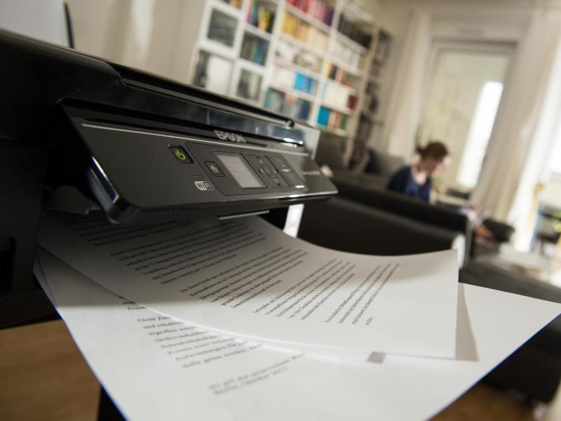 Bild zu Drucken oder drucken lassen - Wann sich ein eigener Drucker lohnt