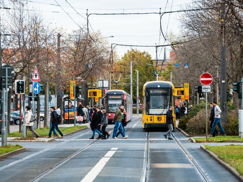 Bild zu Straßenbahnen in Leipzig