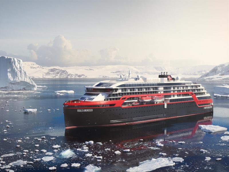 Bild zu Expeditionsschiff «Roald Amundsen»