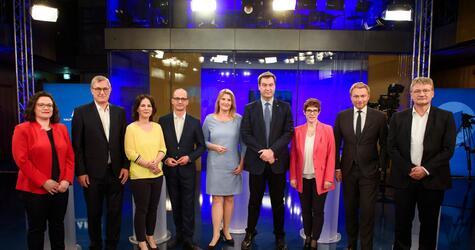 ARD-Sendung Gipfeltreffen Europa
