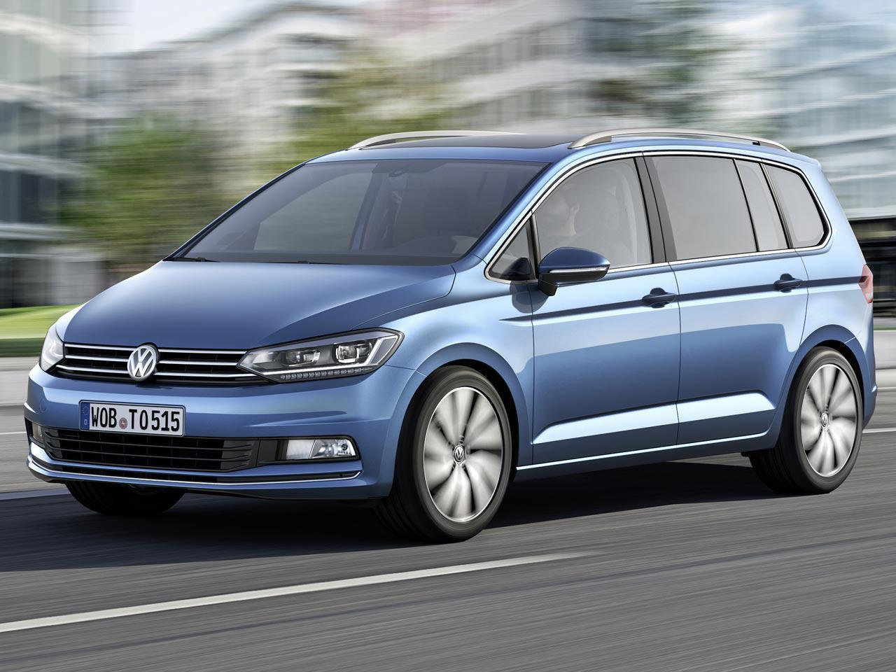 Bild zu 3. Platz: VW Touran