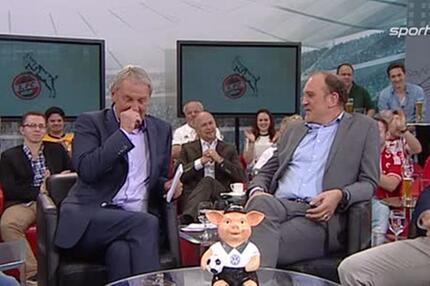 """Simon Zoller grüßt seinen """"Opa"""" Jörg Wontorra..."""