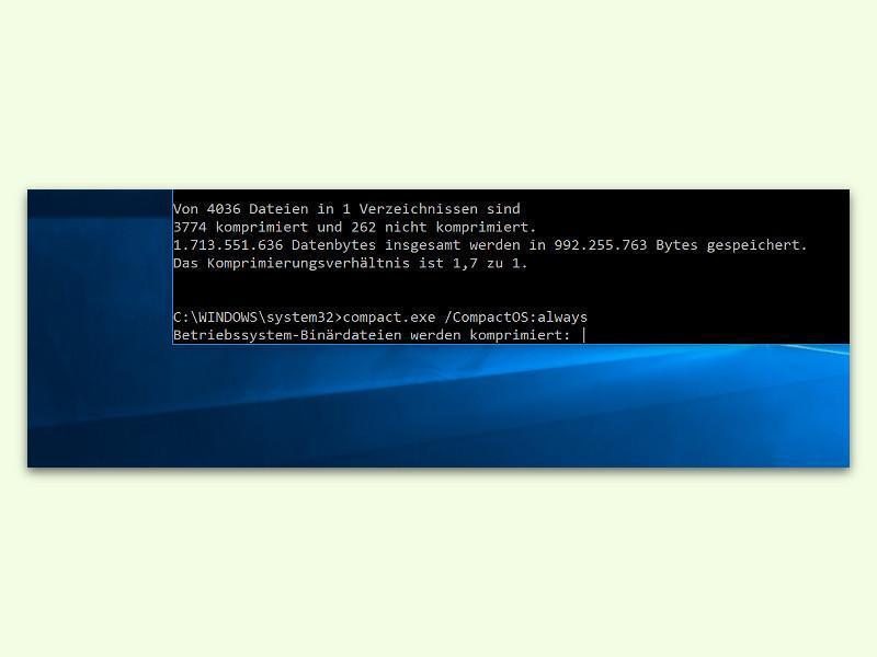 Bild zu Windows 10 komprimieren
