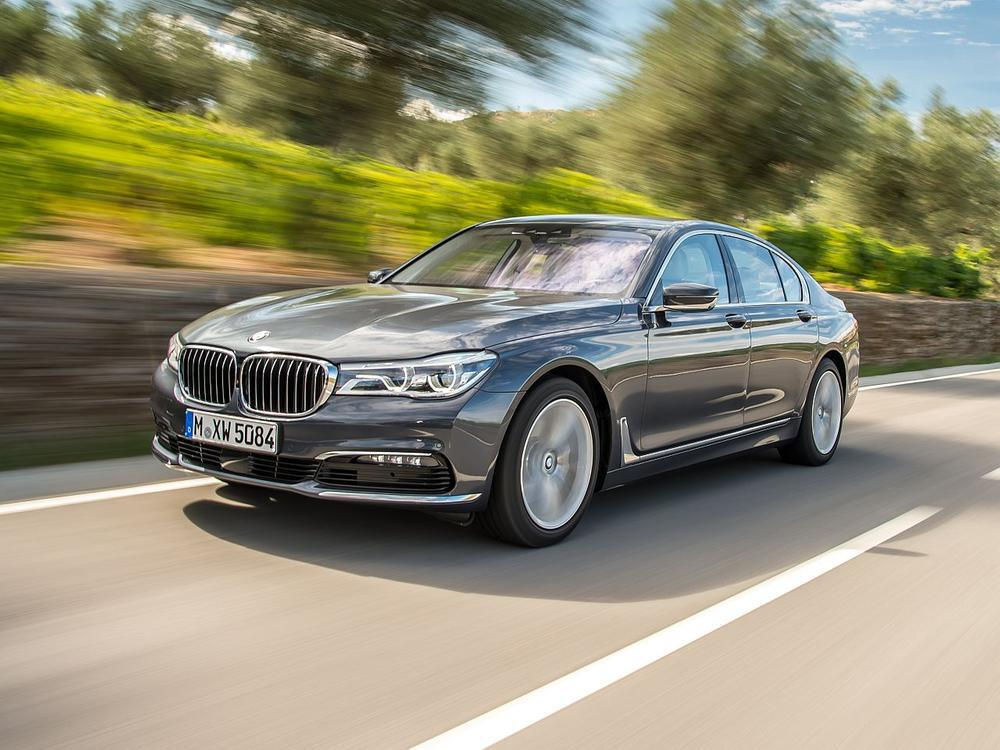 Bild zu Oberklasse: Platz 2 - BMW 7er