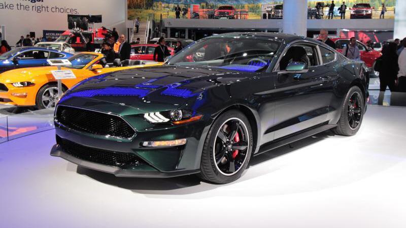 Ford Mustang «Bullitt»