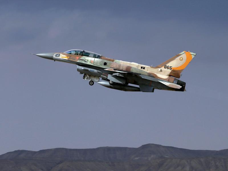 Bild zu Israelisches Kampfflugzeug