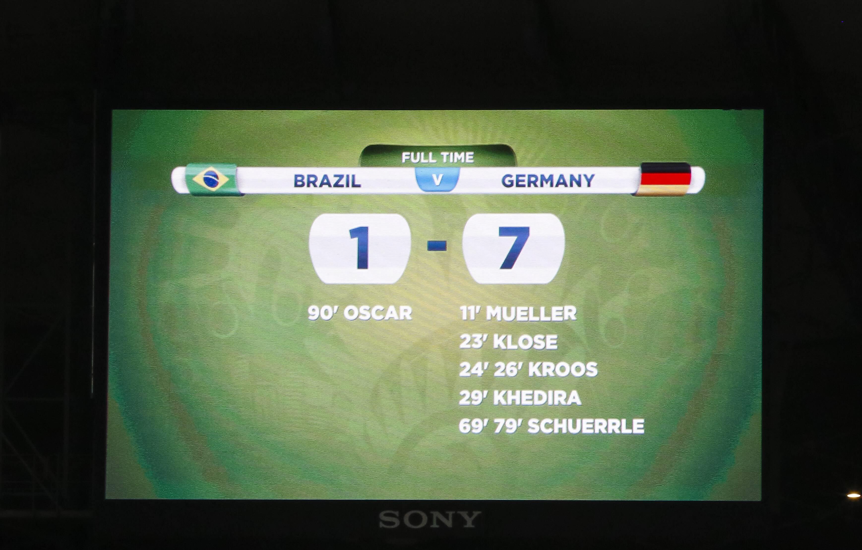 Bild zu WM, Weltmeisterschaft, Deutschland, Brasilien, Berlin, Halbfinale