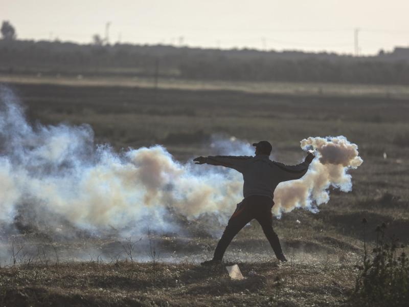 Bild zu Proteste im Gazastreifen