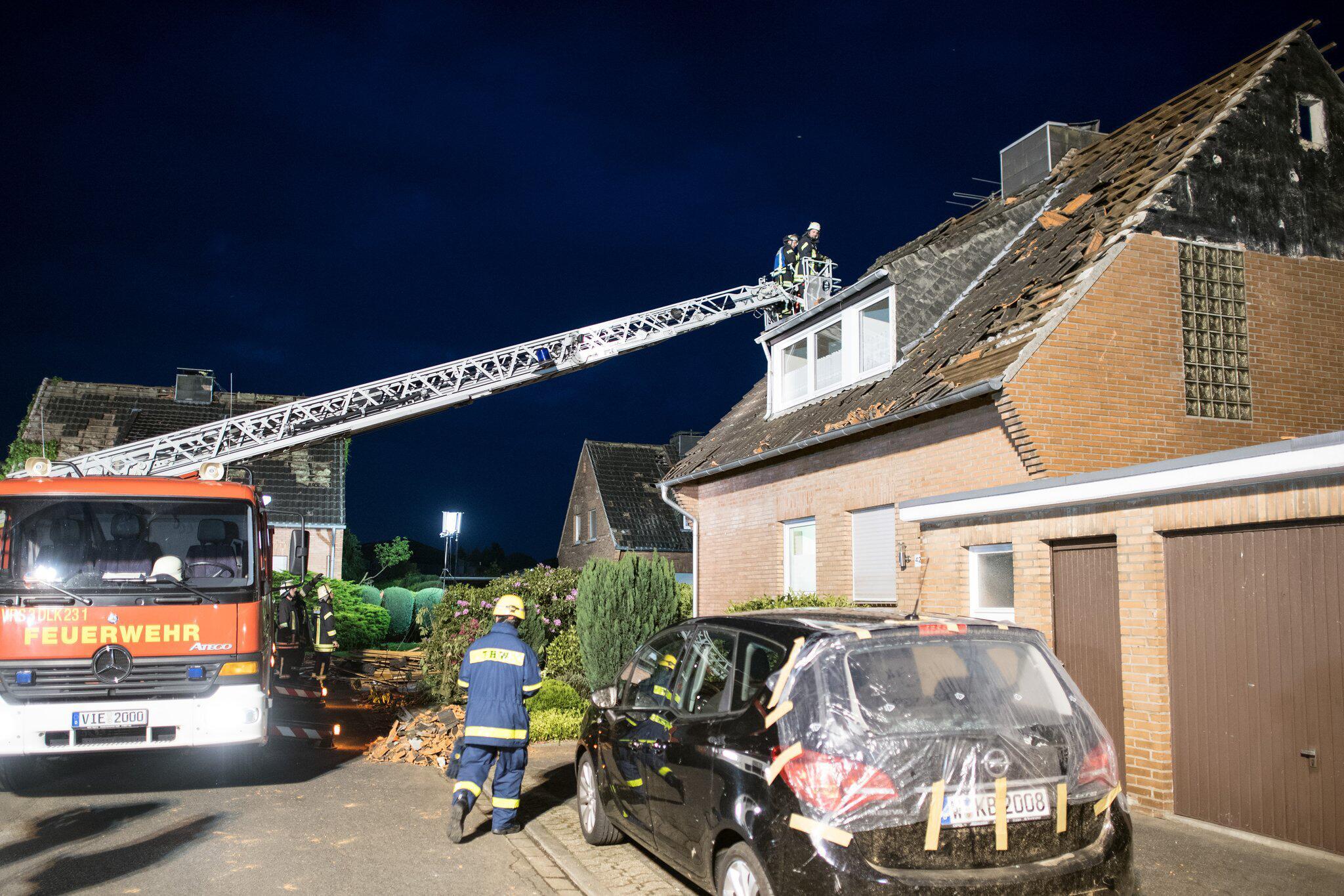 Bild zu Tornado in the lower Rhine region