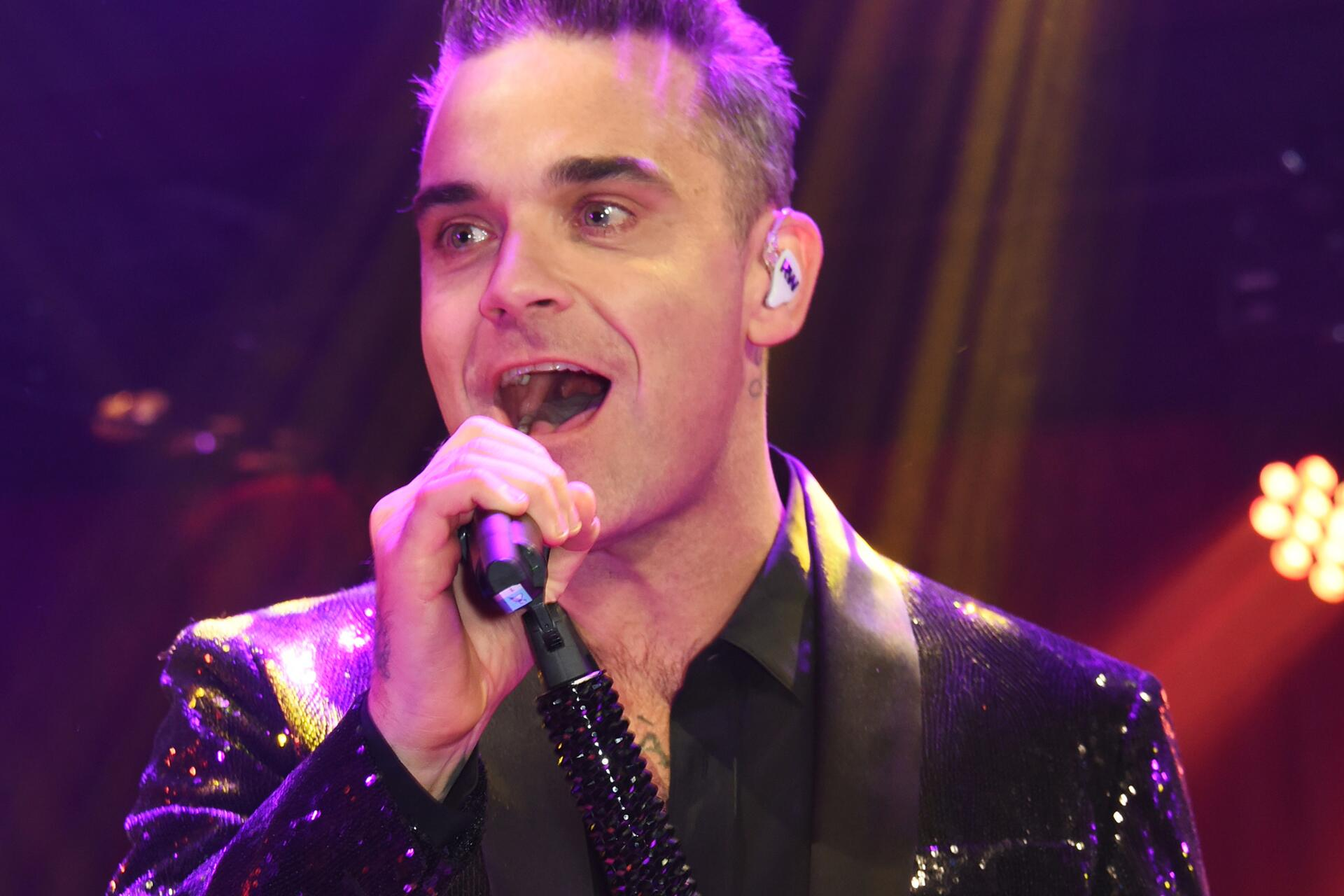 Bild zu Robbie Williams, London