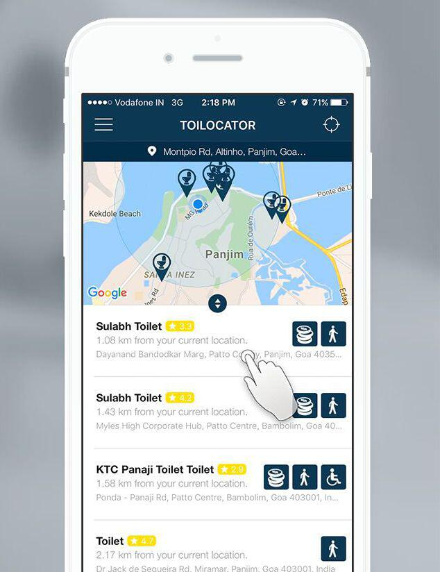 Bild zu Toilocator Reise Städte Apps