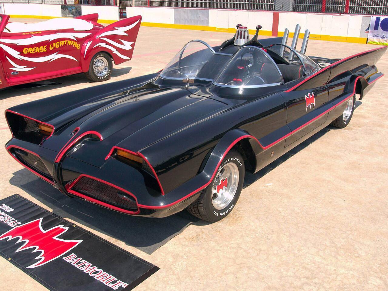 Bild zu Lincoln Futura: Batmobil