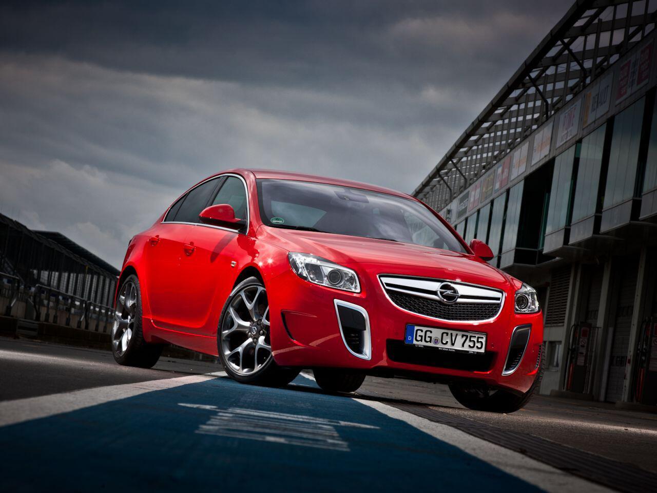 Bild zu Opel Insignia OPC