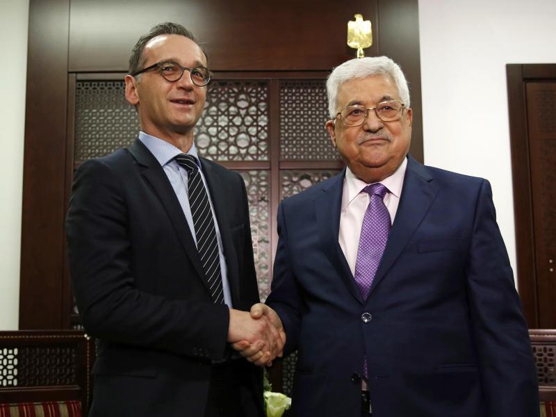 Bild zu Maas besucht Ramallah