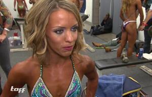 Die kleinste Bodybuilderin der Welt