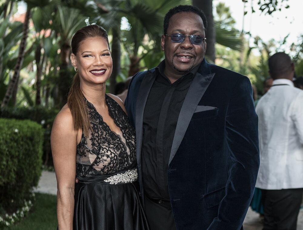 Bild zu Bobby Brown und Alicia Etheredge bei einer Veranstaltung in Beverly Hills