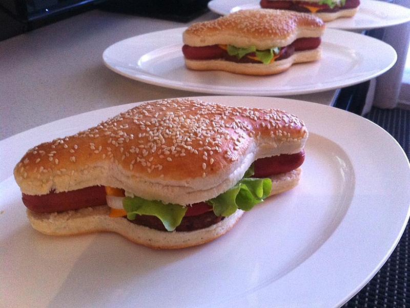 Bild zu Fastfood-Doppelpack:Hamdog