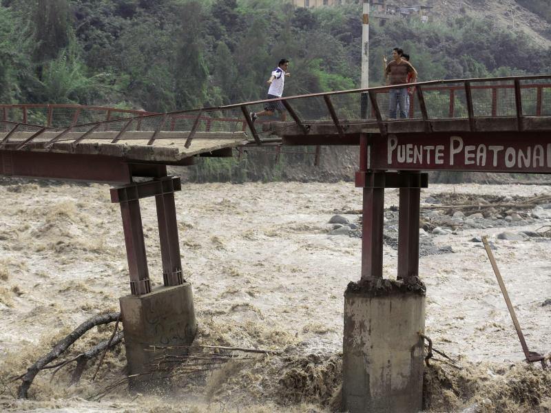 Bild zu Überschwemmungen in Peru