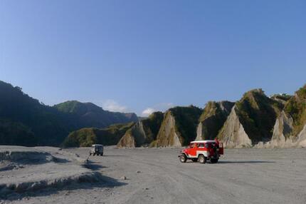 Tour mit dem Geländewagen