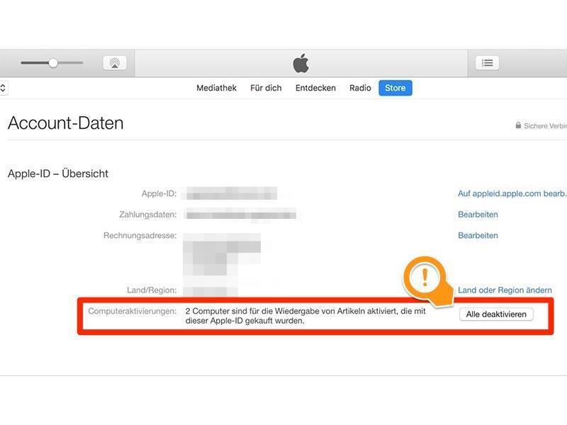 Bild zu Apple-ID-Übersicht