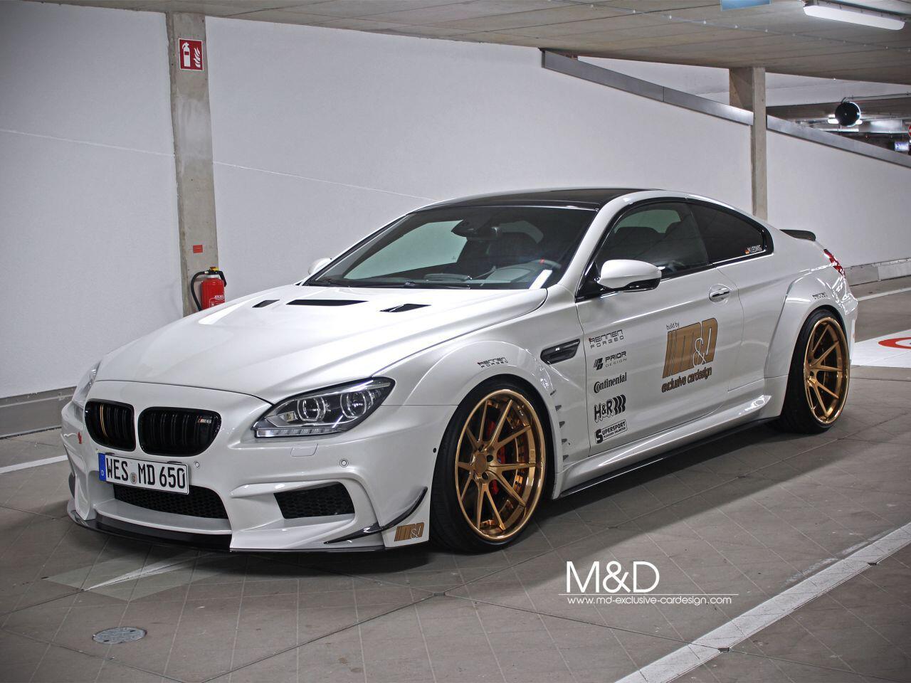 Bild zu BMW 650i Coupé vom Tuning-Spezialisten von M&D