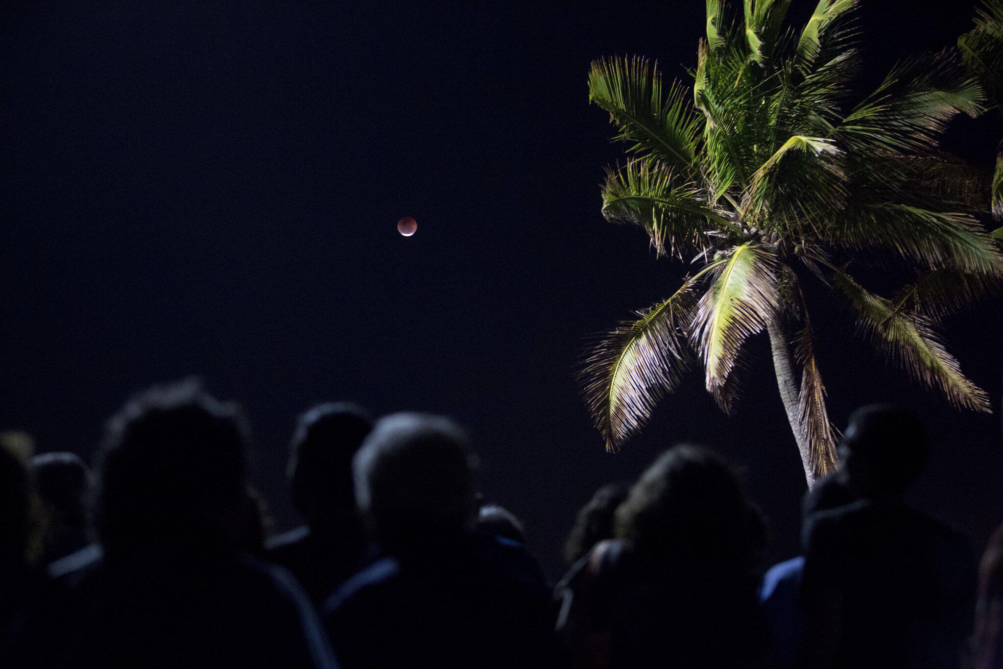 Bild zu Mondfinsternis, Brasilien