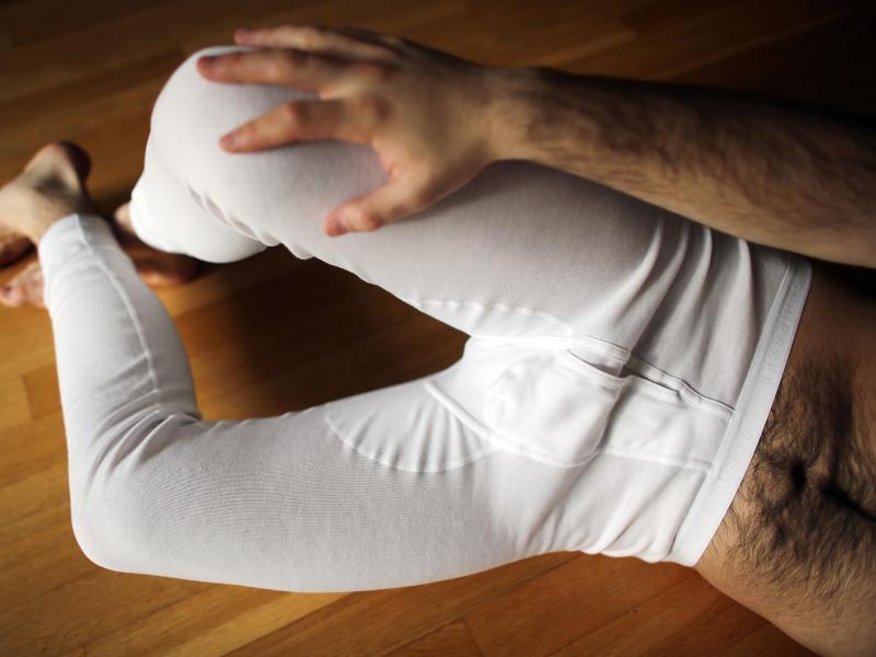 Bild zu lange Unterhose
