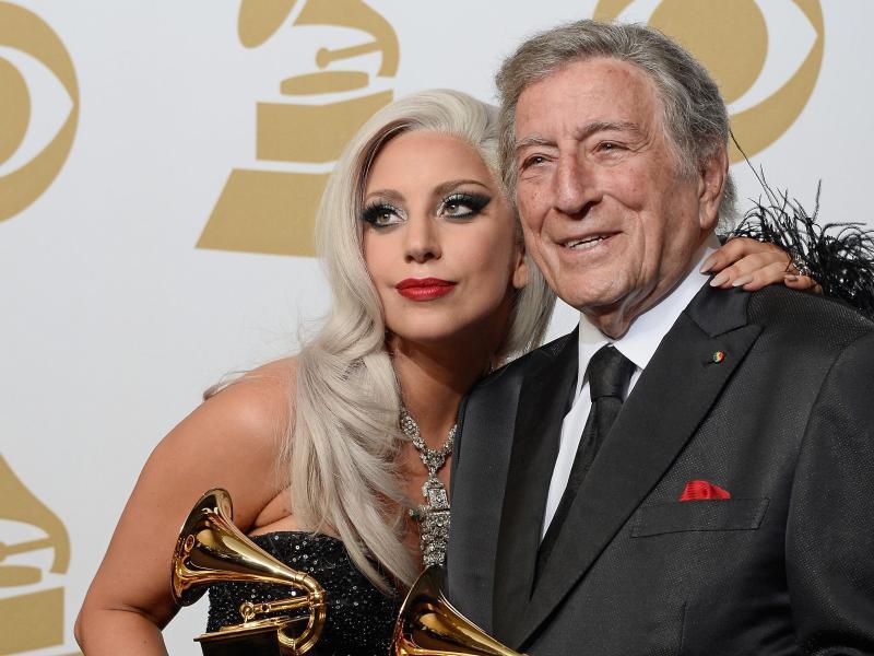 Bild zu Lady Gaga + Tony Bennett