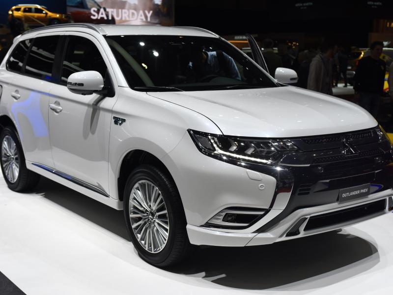 Bild zu Mitsubishi Plug-in-Hybrid Outlander