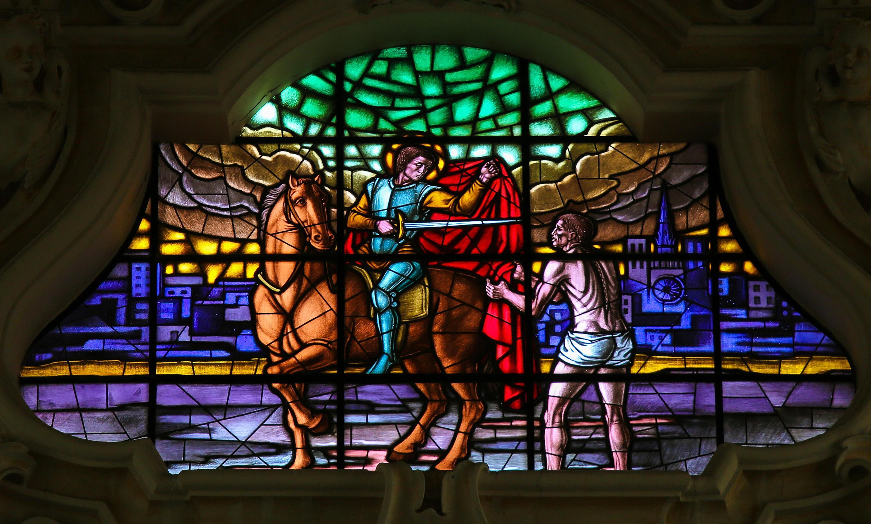 Bild zu St. Martin, Geschichte, Traum, Mantel, rot