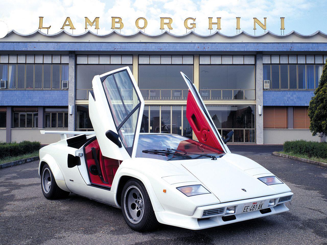 Bild zu Lamborghini Countach LP5000S QV