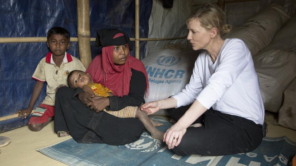 Cate Blanchett in Bangladesch