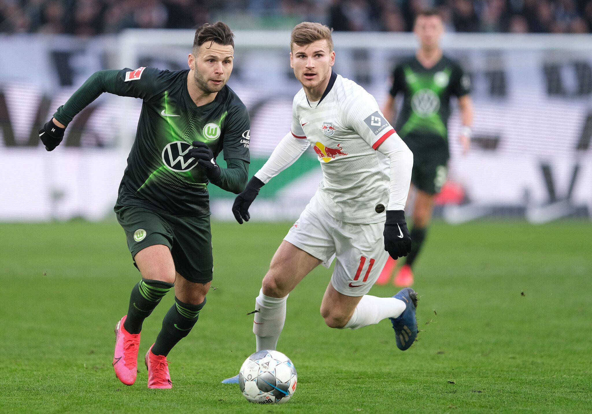 Bild zu VfL Wolfsburg - RB Leipzig
