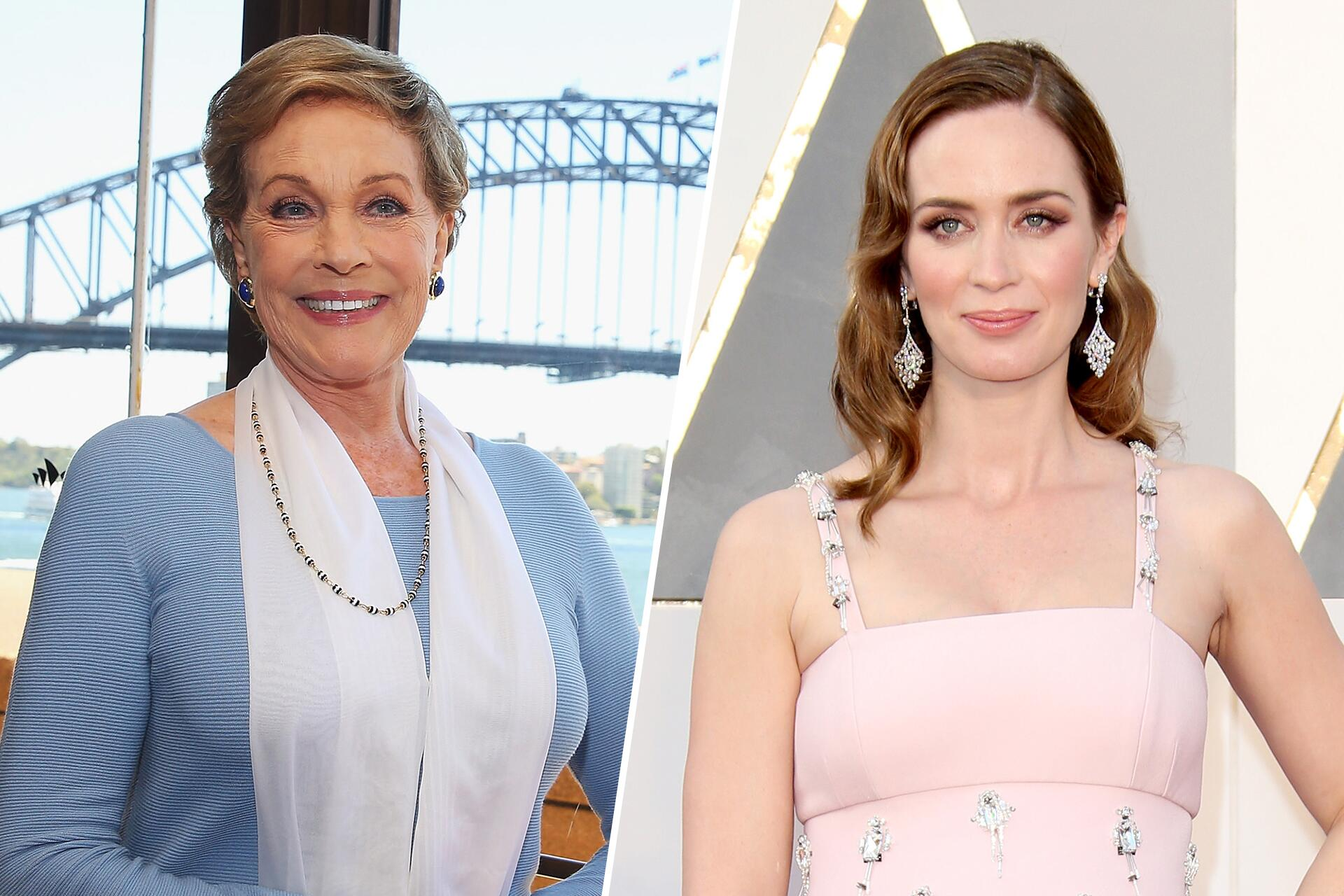 Bild zu Julie Andrews, Emily Blunt, Mary Poppins Returns