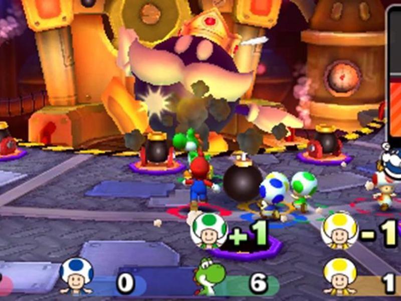 Bild zu «Mario Party: Star Rush»