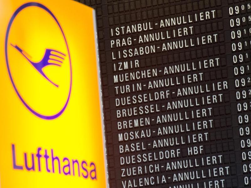 Bild zu Streik bei Lufthansa