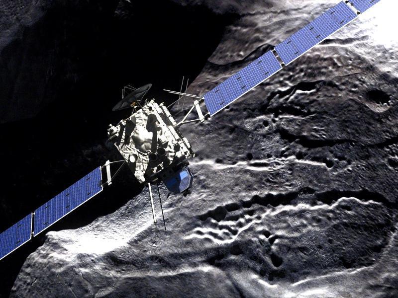Bild zu Rosetta-Mission