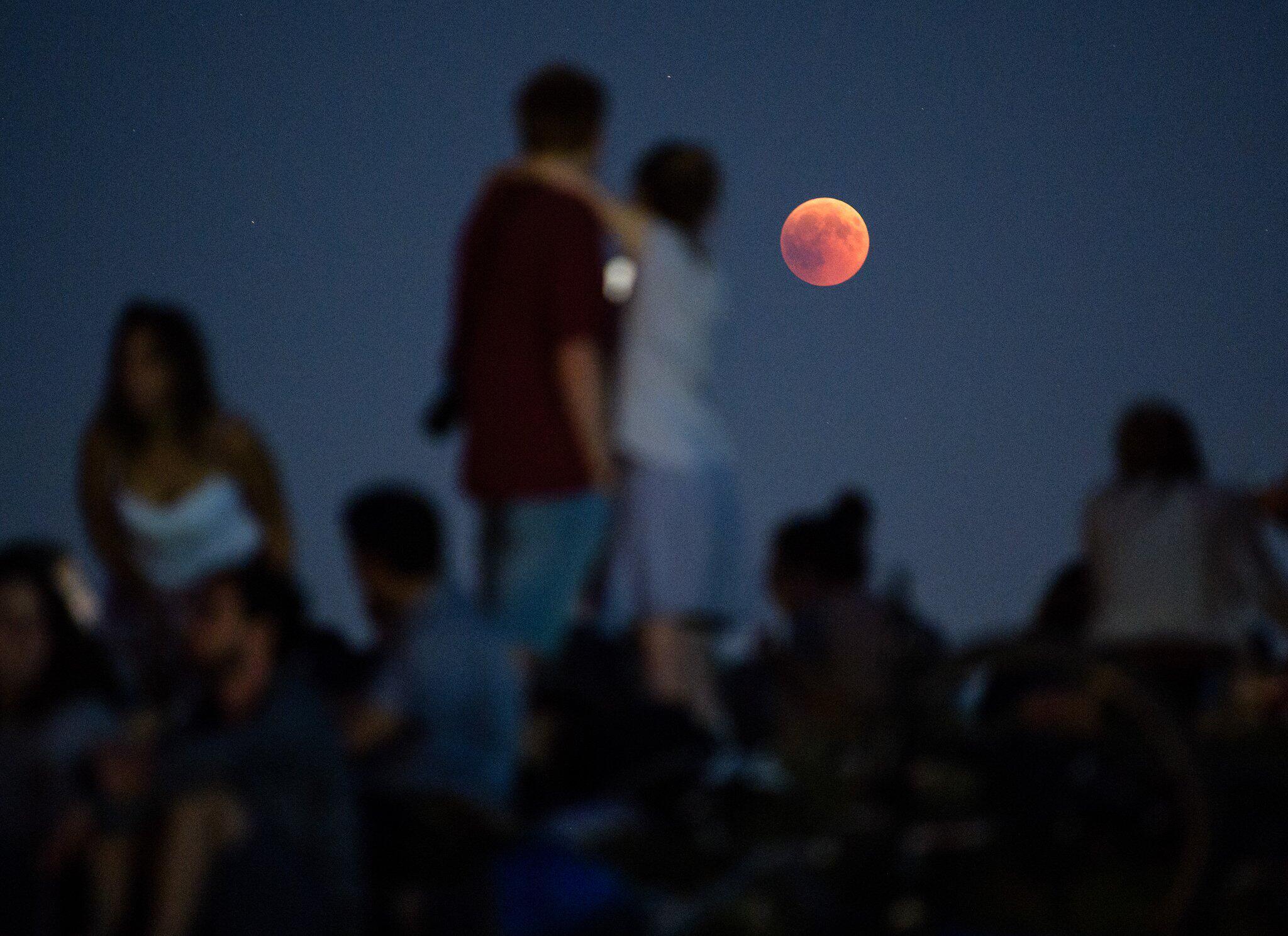 Bild zu Mondfinsternis, Bayern