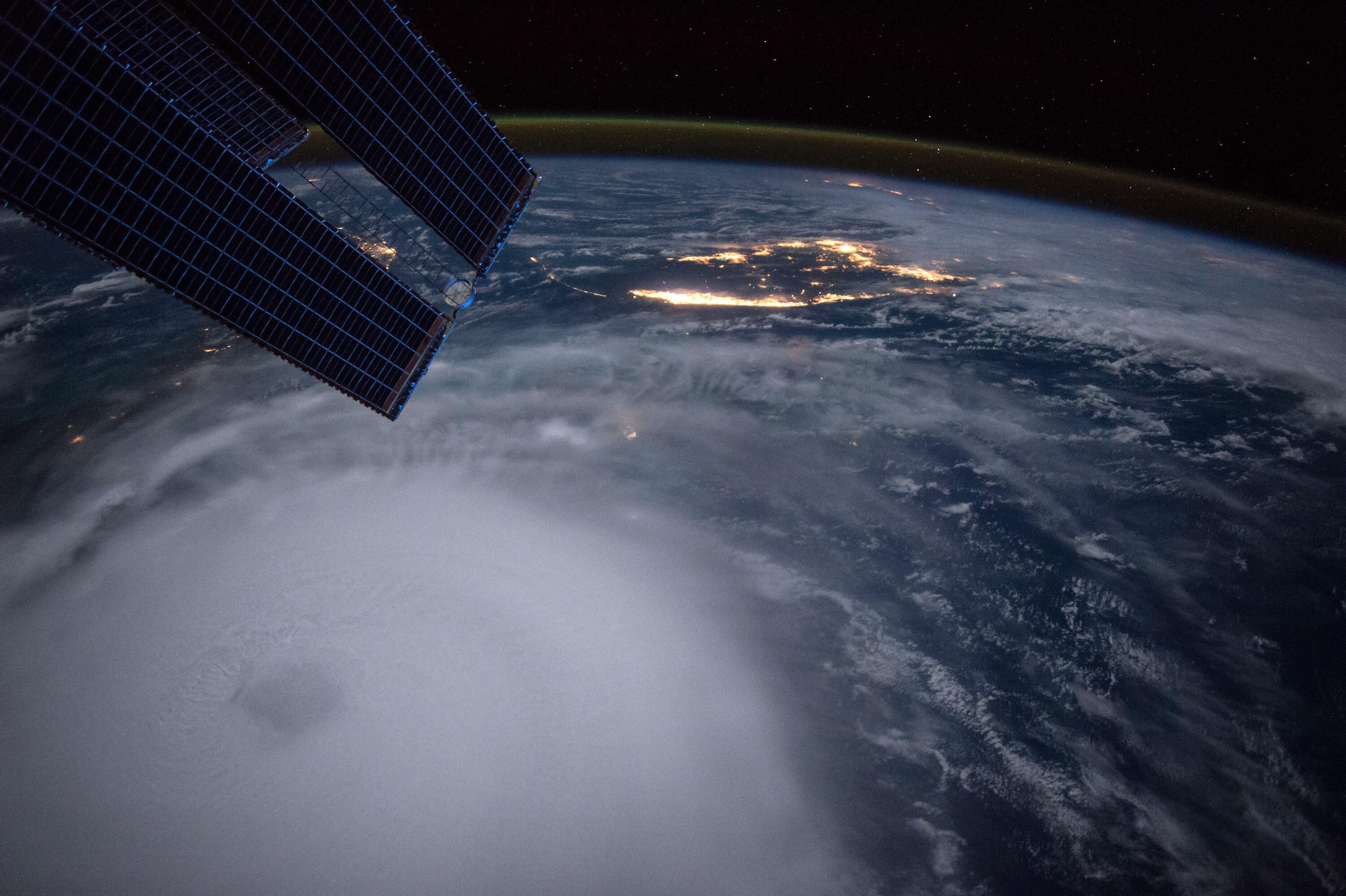 Bild zu Weltraumbilder, Hurricane Joaquin From the International Space Station