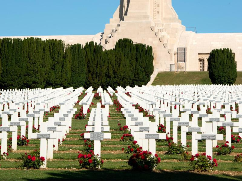 Bild zu Erinnerung an gefallene Soldaten
