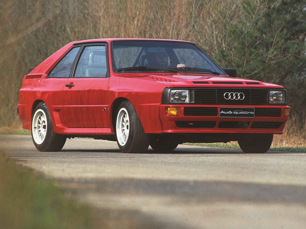 Bild zu Audi Quattro - Urquattro