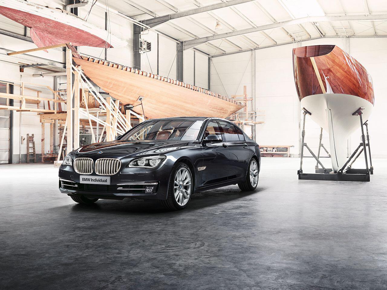 Bild zu Sondermodell BMW 760 Li Sterling