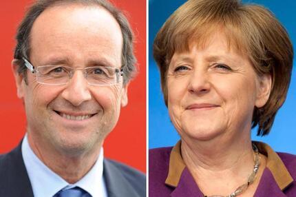 Hollande und Merkel