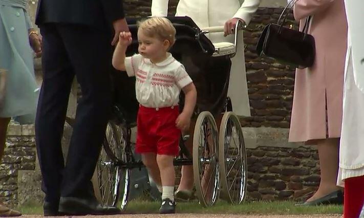 Bild zu Diese Hammer-Geschenke bekommt Prinz George zum 3. Geburtstag