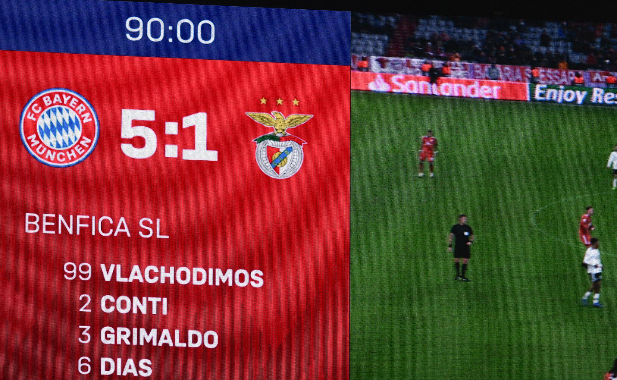 Bild zu Bayern München - Benfica Lissabon