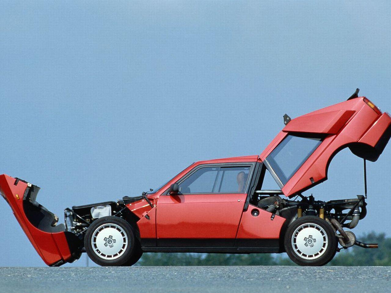 Bild zu Lancia Delta S4 Stradale